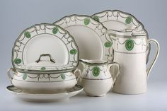 """Royal Doulton - Countess  (Miss Fisher's Murder Mysteries"""" china set.) I want this set so badly it hurts!"""