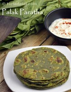 An easy and quick recipe that combines great taste and healthy green vegetables to give you a paratha that's full wholesome goodness.