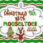 $This fun pack is based on the story, Mooseltoe by Margie Palatini. Complete this detailed book study using a hands-on approach. This pack includes ...