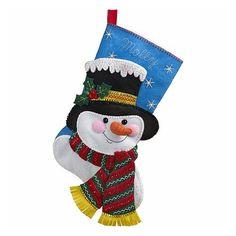 Bucilla Original Bota Navideña Jack Frost Navidad