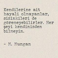 anlamlı sözler murathan mungan