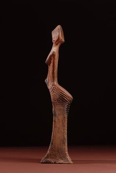 National Living Treasure of Japan, Jomon no Megami (a goddess figure from the Jomon era,  known as the Nishinomae ceramic figure) , 14000 BC 国宝・縄文の女神
