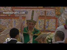 Papa reza en la catedral de Asunción con religiosos, religiosas, sacerdotes y seminaristas.  http://w2.vatican.va/content/francesco/es/speeches/2015/july/documents/papa-francesco_20150711_paraguay-vespri.html