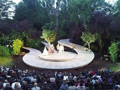 "2,930 Likes, 44 Comments - LANDSCAPE ARCHITECTURE (@landscape.architecture) on Instagram: ""Regents Park Open Air Theatre. Located in #London"""