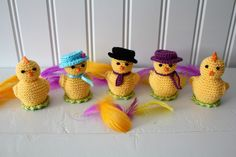Easter Crochet, Some Ideas, Needlework, Free Pattern, Crochet Necklace, Diy Crafts, Knitting, Easter, Crocheting