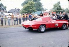 Backwards fire dept. Corvette