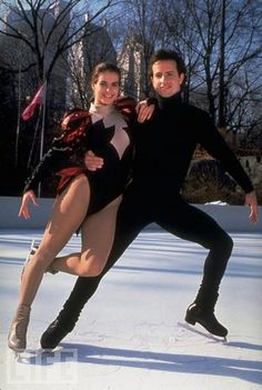 Katarina Witt and Brian Boitano by teofrabio, via Flickr