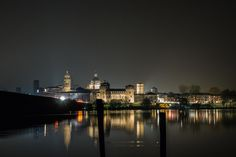 Mantua from the inner lake - The beautiful Mantua from the inner lake (Sparafucile) As shooted