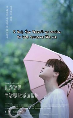 Jimin ❤ [ENG TRANS] LOVE YOURSELF Poster! #LOVE_YOURSELF #BTS #방탄소년단