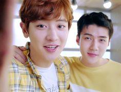 170503 Nature Kakao Talk #Chanyeol #Sehun #EXO