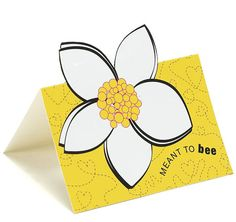Meant to Bee Novely Cards