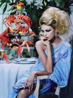 """Miles Aldridge - """"The Pure Wonder"""", Vogue Italia 2005"""