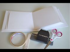 TUTORIAL - SCRAPBOOK - Estrutura de mini álbum - YouTube