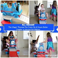 Thomas!  {Indoor use is recommended only if environment is free of obstacles & obstructions. Step2 also recommends that shoes be worn during use.}