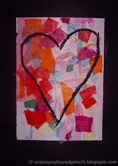 Inspired by American Pop Artist Jim Dine's lithograph  'The Confetti Heart'.   This  project is of course also inspired by the many, ...