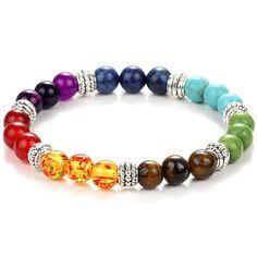 8mm Amethyst Rudraksha Bracelet Healing Gemstone Monk Yoga Stretchy Sutra Unisex