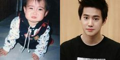 Baby suho was crying