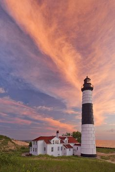 Big Sable Point Lighthouse, Michigan.