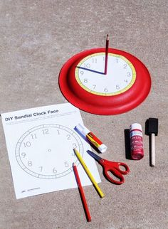 How-To-Make-A-Sun-Dial and other summer activities: