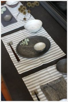 beautiful japanese place settings
