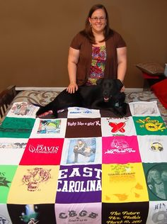 Hanson fan club blanket! A real story from a Project Repat t-shirt quilt customer