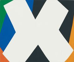 Ellsworth Kelly (1923-2015), White Cross, 1959. Oil on canvas. 17 x 20 in (43.2 x 50.8 cm). Private Collection. Photography by: Jerry L. Thompson, courtesy of Ellsworth Kelly Studio © Ellsworth Kelly
