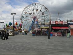 Ferris Wheel Board Walk Wonder image has a public domain license. You can use it for Free and without restrictions even for commercial use Blackpool, Coney Island, Surf, Visiting Nyc, Good Dates, Fragrance Oil, Travel Posters, Free Photos, Ferris Wheel