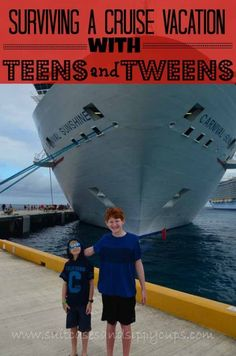 How to Survive a Cruise Vacation with Tweens and Teens: Travel Tips Tuesday