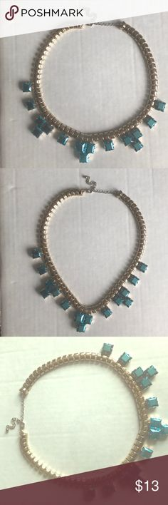 Beautiful Necklace**Offers Accepted ** Beautiful costume Jewelry Necklace with Metallic teal accents Jewelry Necklaces