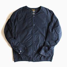 A Vontade | No Collar Coach Jacket | Dk.Navy