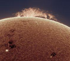 A Prominence on the Sun
