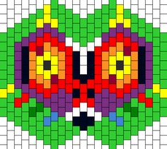 Making a Kandi mask is the way to go for many of us, you can also purchase one if time is short, or you want to support a crafter. How to make a Kandi mask? And where to find a Kandi mask pattern, or do you make your own? Kandi Mask Patterns, Pony Bead Patterns, Beading Patterns Free, Perler Patterns, Peyote Patterns, Cross Stitch Patterns, Crochet Patterns, Kandi Cuff, Kandi Bracelets