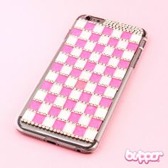 Checkered Jewel Protective Cover for iPhone 6 Plus