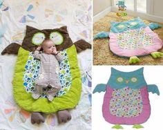 Trendy Sewing Gifts For Baby Boy Girls Ideas Cute Baby Owl, Handgemachtes Baby, Baby Owls, Diy Gifts To Make, Diy Baby Gifts, Baby Crafts, Homemade Baby Gifts, Quilt Baby, Cute Diy Projects