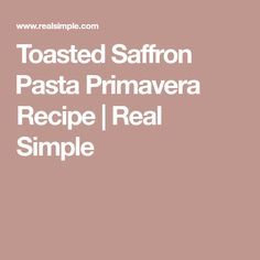 Toasted Saffron 