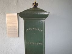 VERY OLD POST OFFICE LETTER BOX