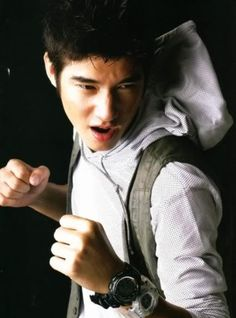 Crazy Little Thing Called Love (Mario Maurer as Shone) Mario Maurer, Asian Male Model, Famous Movies, Asian Actors, Asian Men, Celebrity Crush, Celebrities, Image, Thai Drama