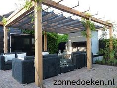 The pergola kits are the easiest and quickest way to build a garden pergola. There are lots of do it yourself pergola kits available to you so that anyone could easily put them together to construct a new structure at their backyard. Diy Pergola, Pergola Canopy, Wooden Pergola, Outdoor Pergola, Backyard Pergola, Pergola Shade, Pergola Kits, Cheap Pergola, Corner Pergola