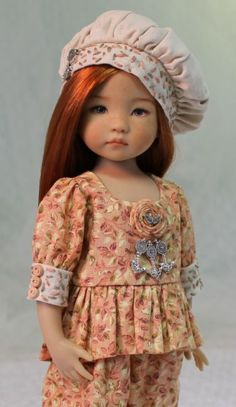 MHD Designs - Automne - Fashion Pattern for Dianna Effner's 13 Inch Little Darlings