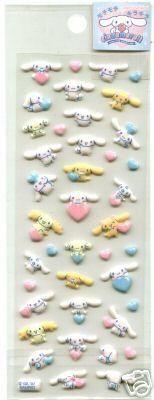 Sanrio Cinnamoroll Glitter Sticker Sheet #3 (I0388)