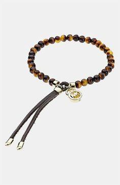 Michael Kors Tortoise Bead Stretch Bracelet available at #Nordstrom