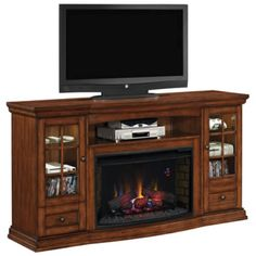 Classic Flame Seagate Media Console Electric Fireplace Secondary Image