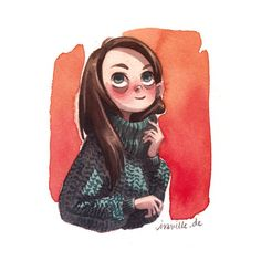 and another knitted sweater girl with progress video. sorry i hope it dont get too boring :)