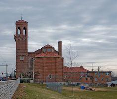 Saint George Roman Catholic Church, in Affton, Missouri, USA - exterior