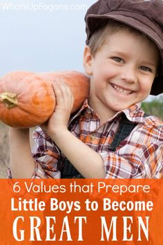 As a Mom of boys I want to raise them to be great men someday! These 6 values are the perfect parenting tips for raising sons the right way.