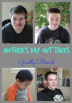 Greatly Blessed: Mother's Day Out Takes