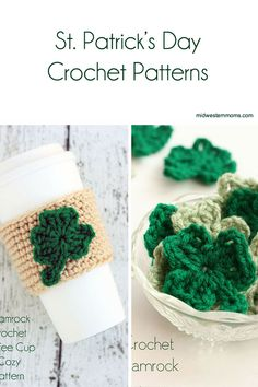 Great list of Free St. Patrick's Day Crochet Patterns! There is a little bit of everything so you certainly can find a pattern you like.