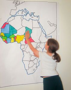 Walk through the Continents - Print Maps Large and Small - Free So many maps to choose from and FREE for classroom use!