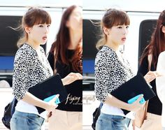 [PICS] 100902 TAEYEON @ Incheon Airport (4 pics) - SoShi Fanclub - We Love Girls' Generation (SNSD)