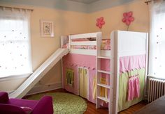 Second bed choice. Either way I want a little playhouse under her bed for all three kids to enjoy. And maybe mommy and daddy too ;-)